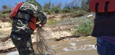 Pese a veda siguen pescando a gran escala en el río Paraguay