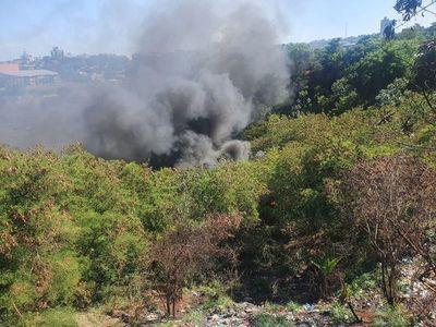 Cuatro incendios en diversas zonas del Alto Paraná