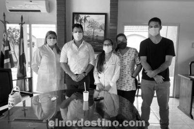 Presidente Luís Guillén totalmente dedicado y comprometido con la clase trabajadora del departamento de Amambay