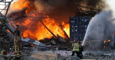 La Nación / Juez pide investigar a tres ministros por explosión del puerto de Beirut