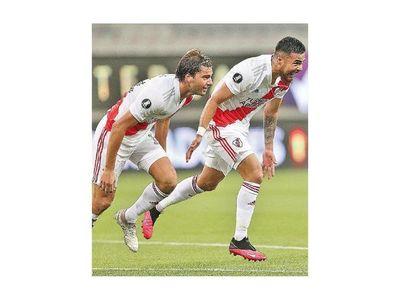 River Plate empata en Brasil y Santos gana