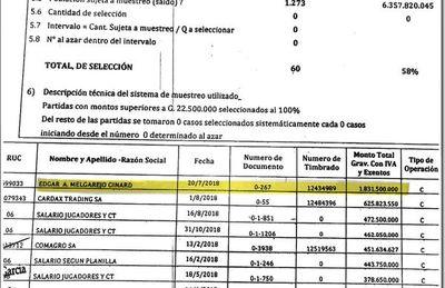 Extitular de Dinac cobró dinero de triangulación del Sportivo Luqueño