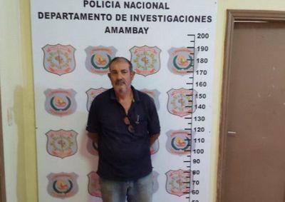 Ex intendente brasileño es detenido por caso de supuesto abuso sexual