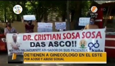 Detienen a ginecólogo denunciado por abuso sexual