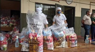 HOY / MEC inicia décima entrega de kits de alimento escolar en Asunción