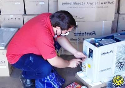 Mades verifica acondicionares de aire importados •