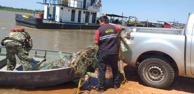 HOY / Retiran espineles y redes de pesca en Río Paraguay