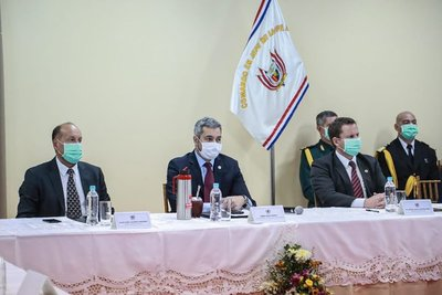 Representantes de los tres poderes del Estado recibieron informes sobre operativo de la FTC en el norte