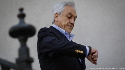 Oposición chilena pide recortar el mandato de Sebastián Piñera