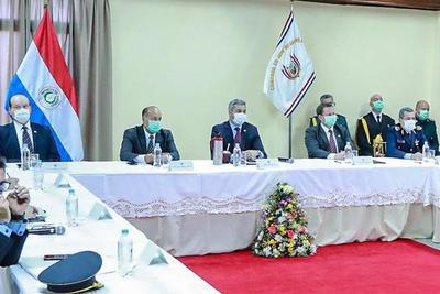Representantes de los tres poderes reciben informe sobre operativo en el norte
