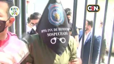 Gregorio 'Papo' Morales llegó a la fiscalía para su declaración indagatoria