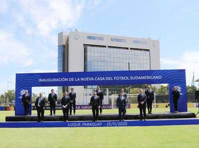 Conmebol amplía sus instalaciones y habilita Centro de Entrenamiento Tecnológico Arbitral
