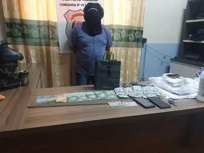 Detienen a presunto extorsionador que sustrajo U$ 15 mil dólares de su víctima