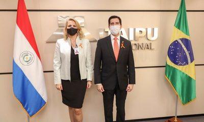 Liz Cramer asume como representante de Cancillería ante el Consejo de Itaipú