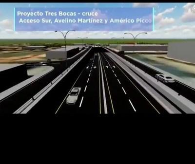 MOPC en etapa de final de caminos alternativos para inicio de obras en Cruce Tres Bocas