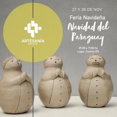"""Llega en el IPA la feria de artesanías """"Navidad del Paraguay"""""""