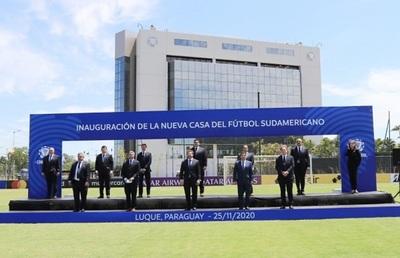 Inauguran instalaciones de la Conmebol y nuevo centro arbitral