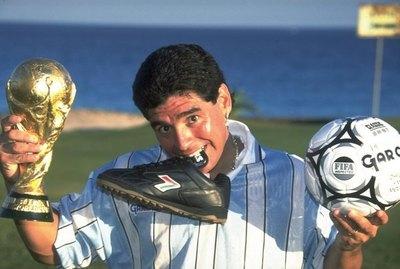 Diego Maradona, un grande del fútbol de todos los tiempos