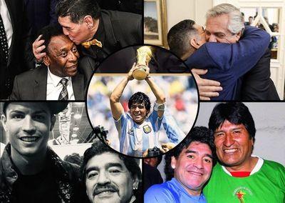 ¡Conmoción mundial! Presidentes, clubes y grandes referentes dan el último adiós a Maradona