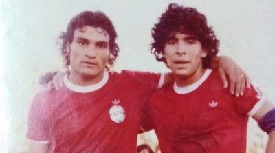 Las anécdotas de Eugenio Morel con Diego Maradona
