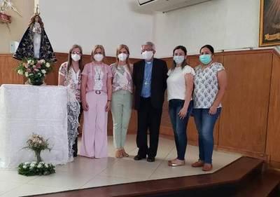 Familiares de secuestrados se reúnen con máxima autoridad de la Iglesia