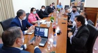 Gobernador de Caazapá participó en la sesión del Consejo de Gobernadores