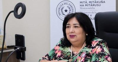 La Nación / Diputados plantean interpelación a Teresa Martínez, ministra de la Niñez