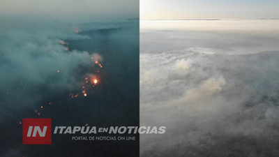 INCENDIOS SIN PRECEDENTES AFECTA RESERVA FORESTAL EN EDELIRA