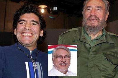 """Atienden"" a Lugo tras inesperada despedida a Maradona"