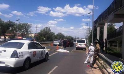 Fatal atropellamiento en la Autopista Ñu Guasu •