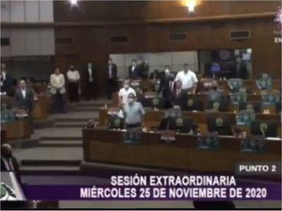 Muerte de Maradona: Crítican minuto de silencio en Diputados y tuit de Lugo
