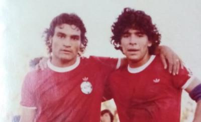 """HOY / """"Pidió por mí para ir a jugar en Argentinos Juniors"""""""