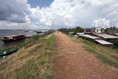 Alberdeños miran con recelo el nivel del Río Paraguay