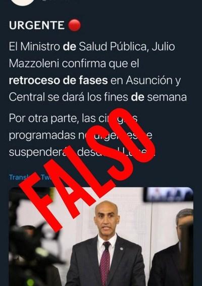No habrá retroceso de fases en Asunción y Central, ni suspensión de cirugías, aclaran