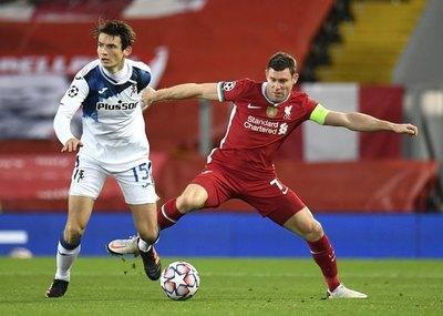 Liverpool perdió de local ante Atalanta