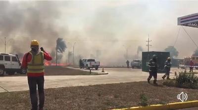 Incendio forestal que estuvo a punto de alcanzar a Yacyretá fue controlado