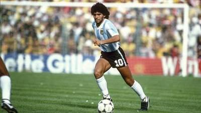 Alcides Báez recordó el penal que le atajó a Maradona