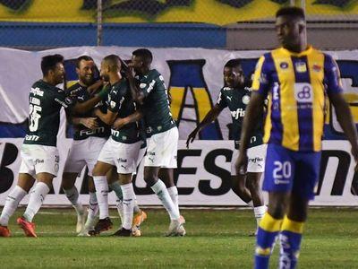Palmeiras supera a Delfín y saborea su pase a cuartos en la Libertadores