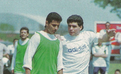 "HOY / De Alvarenga, Maradona decía que ""era todo lo que me bastaba"""
