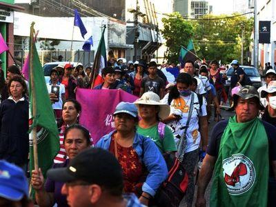 Diputados recortó transferencias a campesinos y siguen movilizaciones