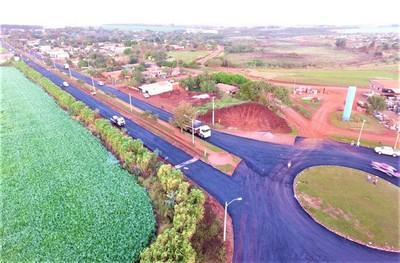 """La """"Capital del Granero"""" tendrá nueva ruta asfaltada que ahorrará 40 km a productores"""