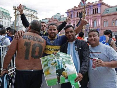 Comienza el velorio de Maradona en la Casa de Gobierno de Argentina