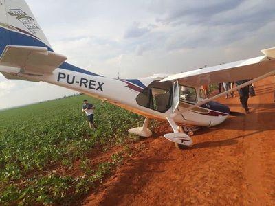 Hallan una avioneta abandonada en Tavapy