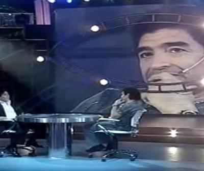 El día que Maradona habló de su muerte: Ponelo en la lápida