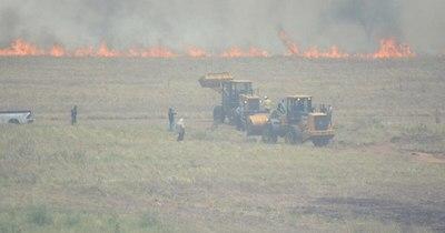 La Nación / Incendio en Ayolas no afectó a la central hidroeléctrica ni a funcionarios