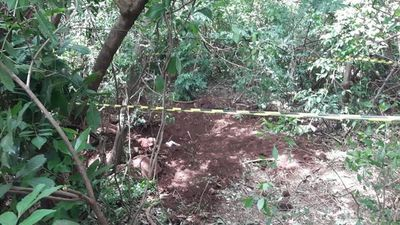 Hallan cuatro cadáveres en una fosa común en Amambay