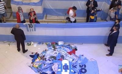 Maradona recibe el último adiós de miles de personas en la Casa Rosada