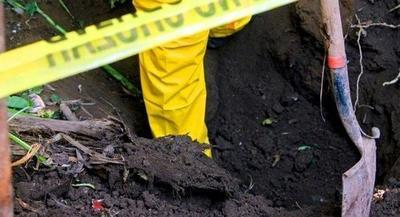 Encuentran cuatro cuerpos enterrados en Pedro Jua – Prensa 5