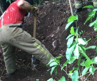 Encuentran cuatro cuerpos enterrados, con rastros de tortura, en Pedro Juan Caballero