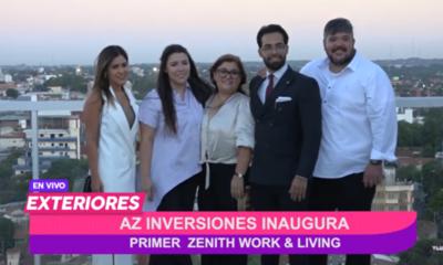 AZ Inversiones inauguró el edificio Zenith Félix Bogado